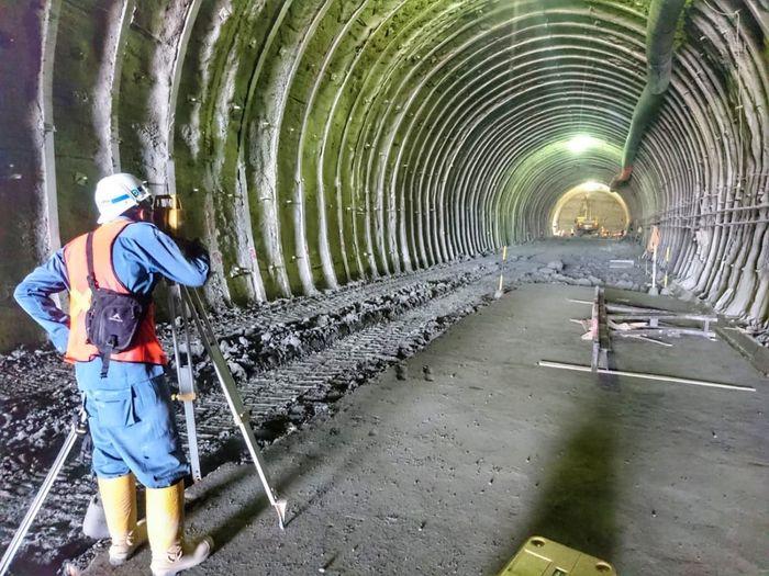 Proyek pembangunan terowongan Kroya-Kutoarjo (Terowongan Ijo) dikerjakan Wika bersama Jaya Konstruksi. Istimewa/Dok. PT. Wijaya Karya (Persero) Tbk.