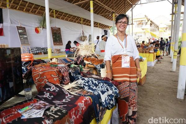 Berbagai masyarakat dari dalam dan luar negeri ikut serta dalam festival ini (Aditya/detikTravel)