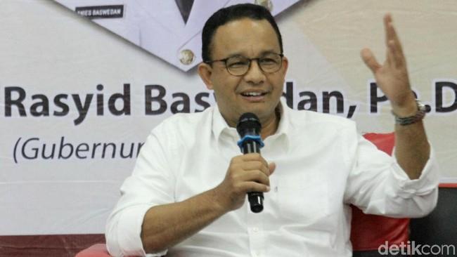 Gubernur DKI Jakarta Anies Baswedan/Foto: Agung Pambudhy