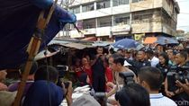 Blusukan ke Pasar Gintung Bandar Lampung, Jokowi Borong Tempe
