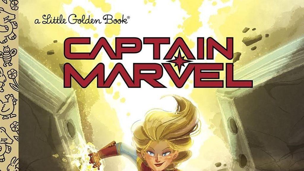 Buku Anak Captain Marvel Terbit Awal 2019