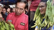 Jokowi-Sandiaga Bersahutan dari Pasar