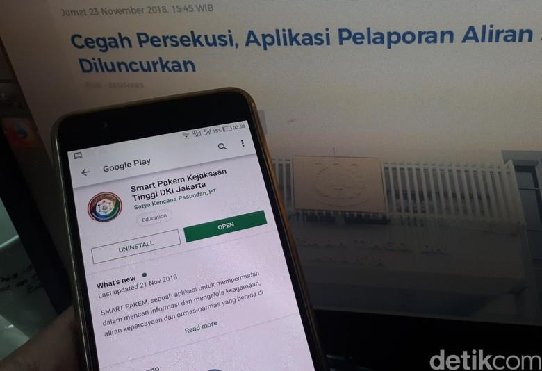 Komnas HAM Desak Kejagung Hapus Aplikasi Pelaporan Aliran Sesat
