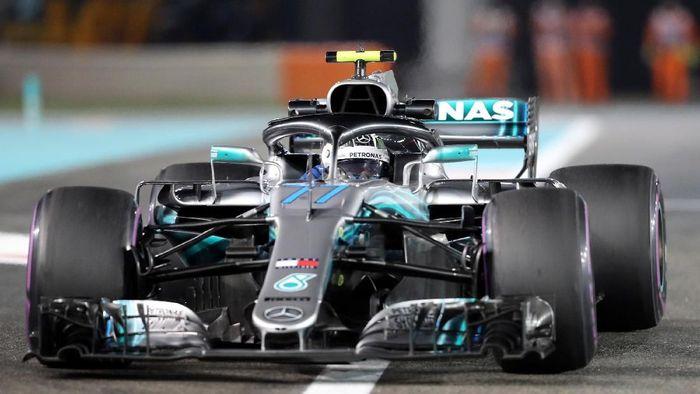 Valtteri Bottas tercepat di sesi free practice II GP Abu Dhabi 2018 (Ahmed Jadallah/REUTERS)