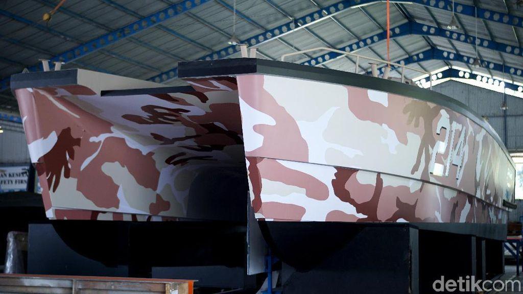 Penampakan Gagahnya Tank Boat Made in Banyuwangi
