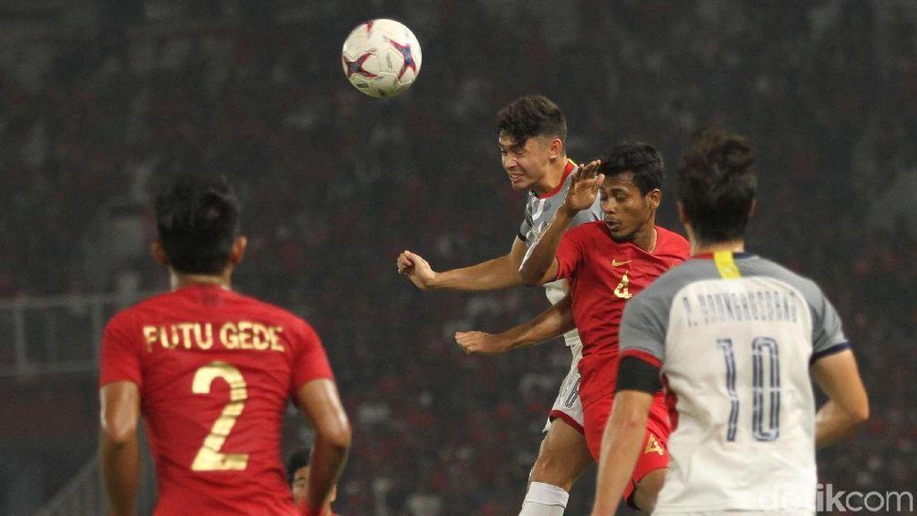Babak I Indonesia Vs Filipina Selesai Tanpa Gol
