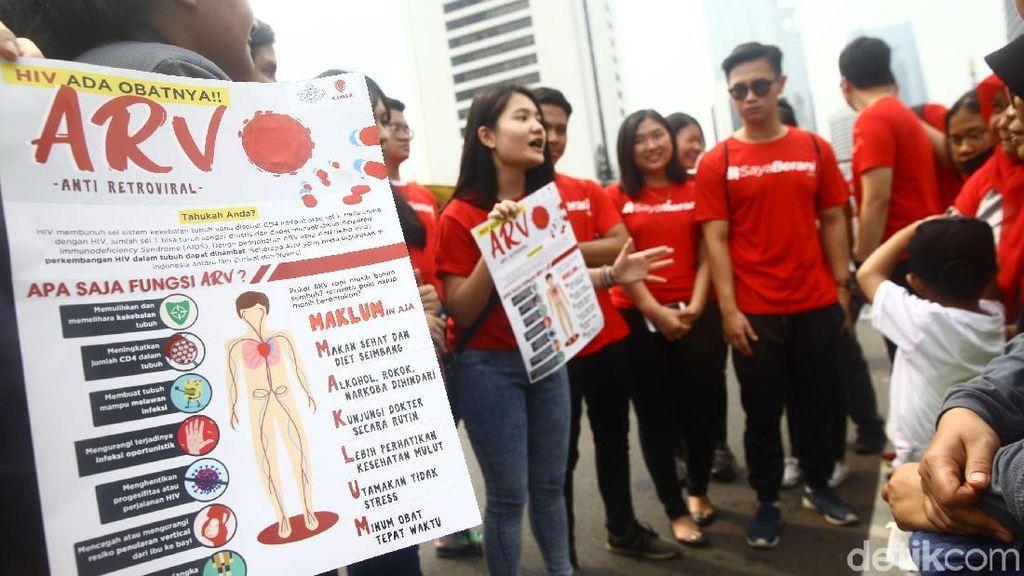 Kemenkes: HIV AIDS Tidak Mudah Menular