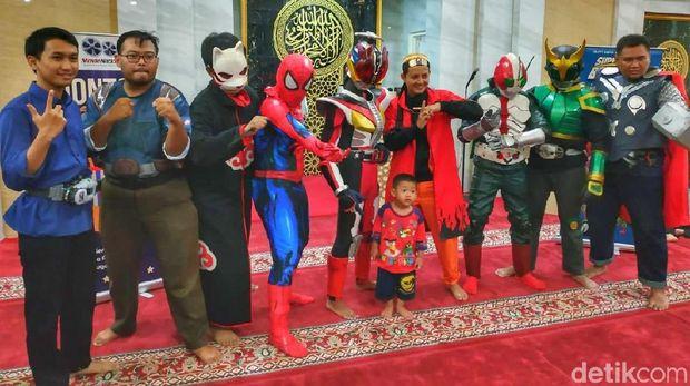Ngaji Lagi Bareng Ustaz 'Naruto' di Surabaya, Begini Keseruannya