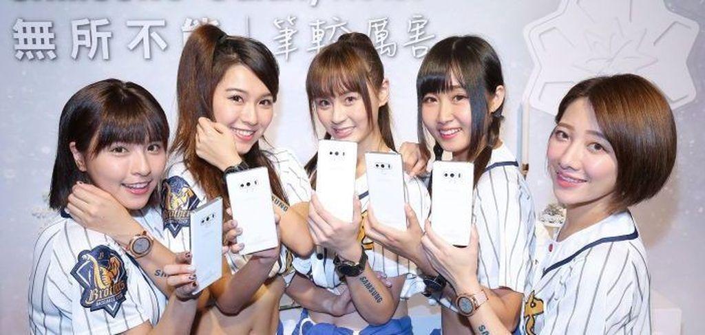 Inilah Samsung Galaxy Note 9 berkelir putih. Foto: Samsung