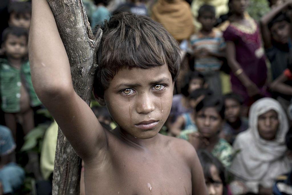 Juara Photo of the Year, Battle Victim karya K M Asad dari Bangladesh. Foto: K M Asad/Siena International Photo Awards 2018