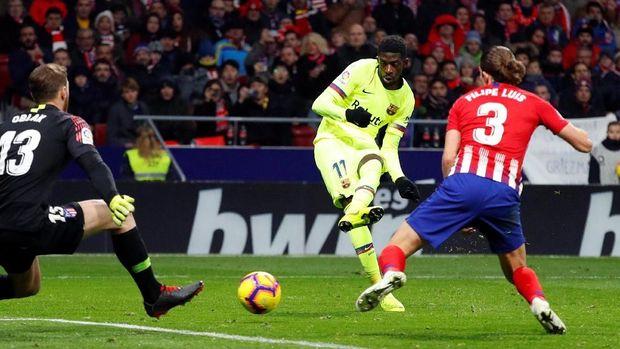 Dembele selamatkan Barcelona dari kekalahan.