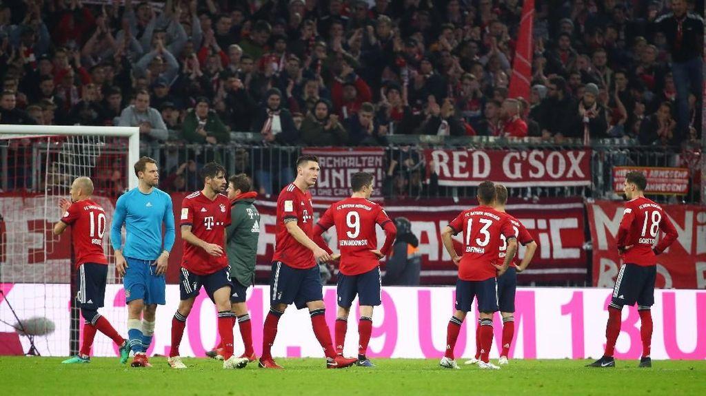 Buang Keunggulan Dua Gol, Bayern Ditahan Duesseldorf 3-3