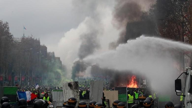 Prancis Siagakan 89.000 Personel Keamanan Jelang Aksi Protes Sabtu