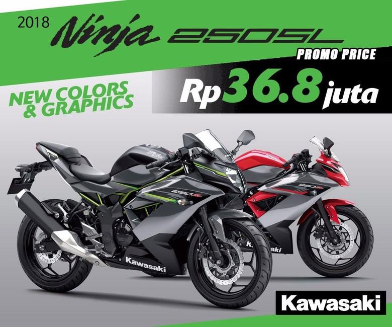 Kawasaki Ninja 250 SL Foto: Istimewa