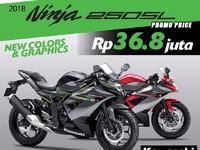 Perang Fitur Ninja 250SL vs Sport Fairing 150 cc Honda, Yamaha, Suzuki