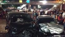 Penampakan BMW yang Lawan Arah dan Kecelakaan di Latumenten