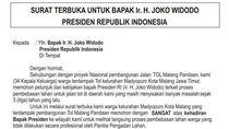 Tuntut Ganti Rugi, Warga Terdampak Tol Pandaan-Malang Surati Presiden