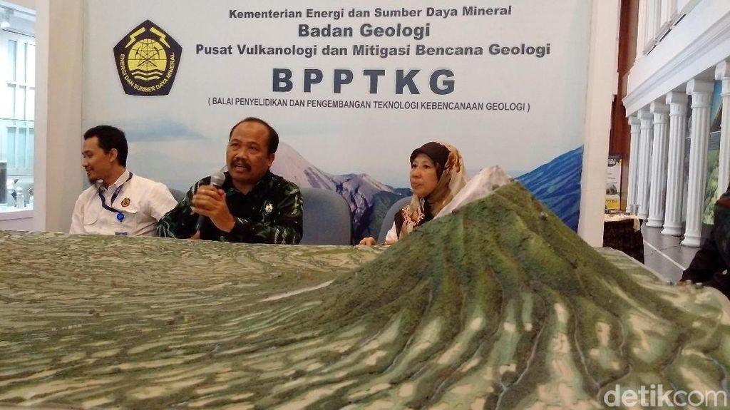 PVMBG: Guguran Lava Merapi Belum Bahayakan Penduduk