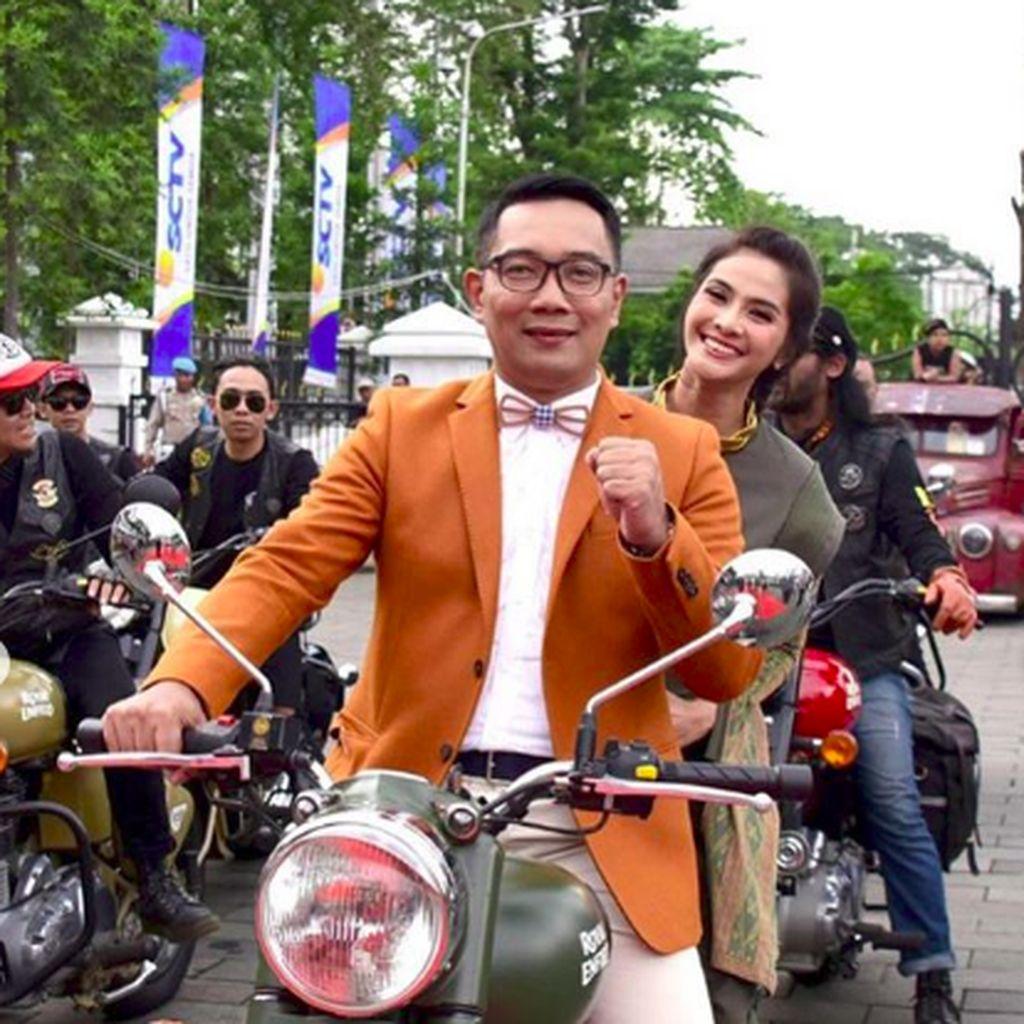 Pesan Kocak Ridwan Kamil agar Tertib Berlalu Lintas
