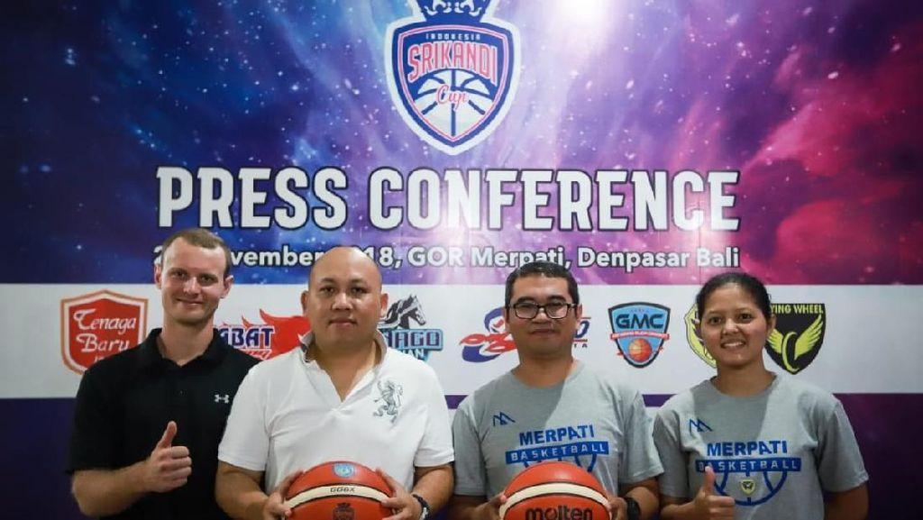 Liga Basket Putri Srikandi Cup Bergulir dari Bali Mulai Hari Ini