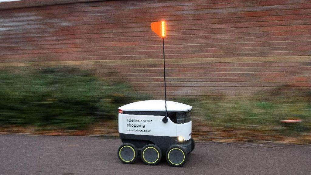 Canggih! Robot Ini Bisa Jadi Kurir Supermarket di Inggris