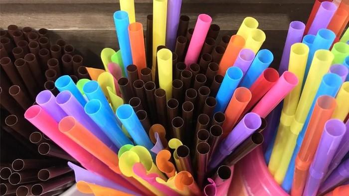 Sedotan plastik (Foto: Luthfy Syahban)