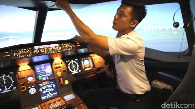 Kisah Pilot Vincent, Bikin Flight Simulator Demi Mimpi Anak Bangsa