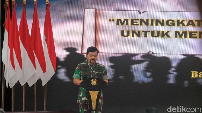 Di Depan Jokowi, Panglima Pastikan TNI AD Juara Umum AARM 2018
