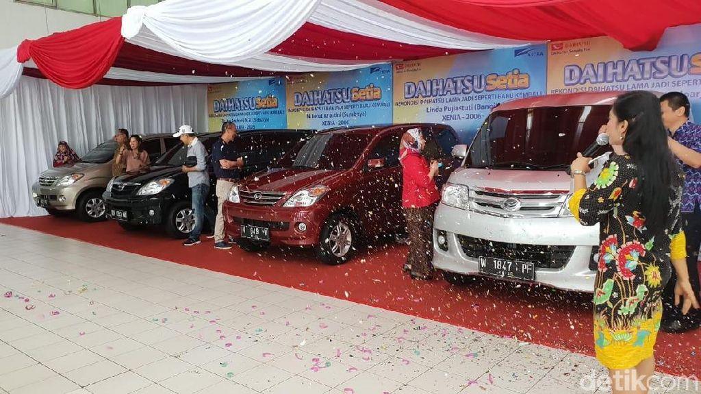 Daihatsu Ubah Mobil Lama Konsumen Jadi Seperti Baru Keluar Pabrik