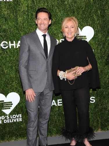 NEW YORK, NY - OCTOBER 16:  Hugh Jackman and Deborra-lee Furness attend God's Love We Deliver, Golden Heart Awards at Spring Studios on October 16, 2018 in New York City.  (Photo by Dimitrios Kambouris/Getty Images for Michael Kors)