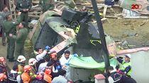 Video: Helikopter Turki Jatuh di Tengah Permukiman Warga