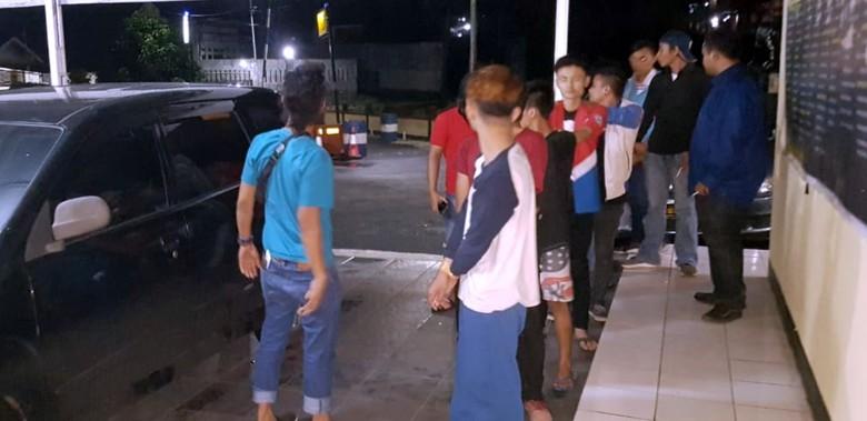 Geng Motor Pengeroyok 3 Pemuda Sukabumi Ditangkap