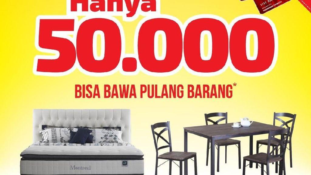 Cuma Rp 50 Ribu, Bawa Pulang Furnitur Ini di Index Living Mall