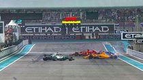 Alonso Pensiun dari F1, Hamilton-Vettel Pamer Aksi Donat