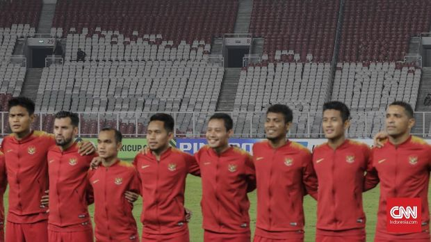 Timnas Indonesia senior minim prestasi.