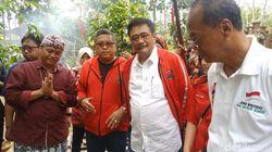 Djarot Targetkan Medan Raih 75 persen Suara Untuk Jokowi-Maruf