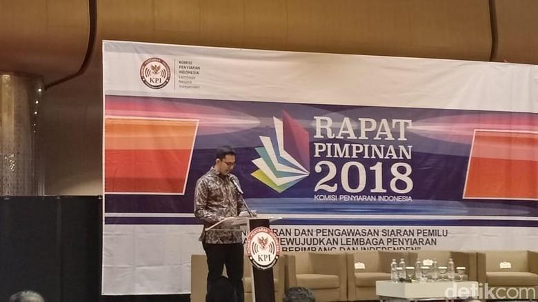 Rapat Bareng KPU-Bawaslu, KPI Siap Antisipasi Berita Hoax Pilpres