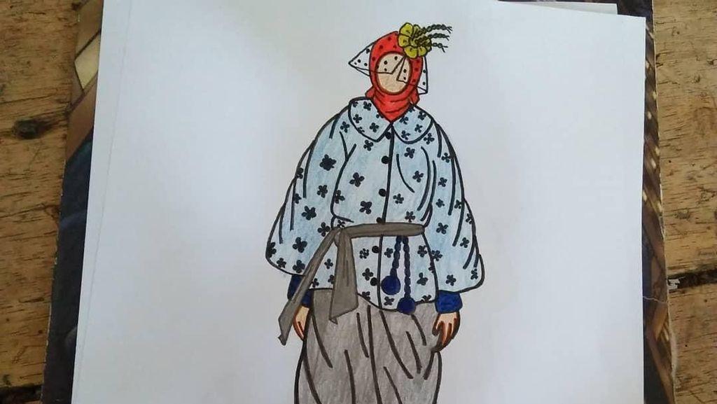 Mengenal Lebih Dekat Rahmat, Pria Difabel yang Viral karena Jago Desain Baju