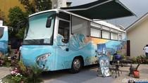 Rogoh Rp 300 Juta, Damri Sulap Bus Jadi Hotel