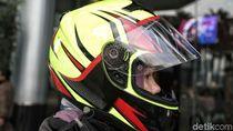 Helm Buatan Bandung, Cukup Nyaman di Kepala