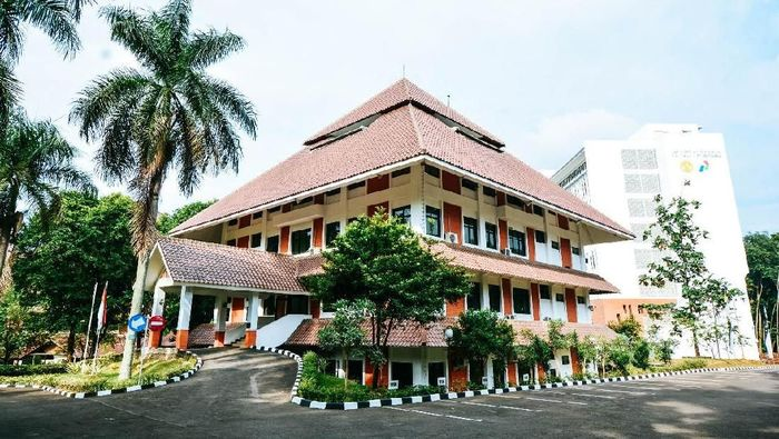 Gedung FMIPA UI Foto: Dok. Universitas Indonesia
