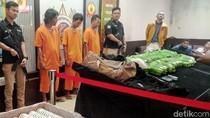 Bareskrim Gagalkan Penyelundupan Sabu 31,6 Kg Milik Sindikat Malaysia