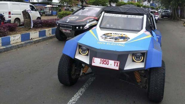 Mobil listrik Blits.