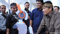 Hadir di SAFETIK, Robot Ini Diminta Juga Bisa Bahasa Sunda