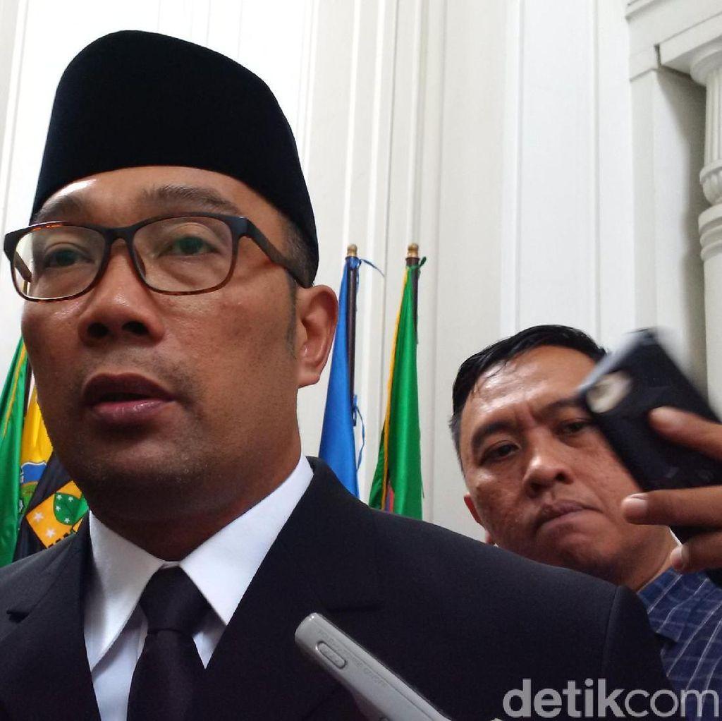 Bupati Cianjur OTT KPK, Ridwan Kamil: Saya Sangat Sedih