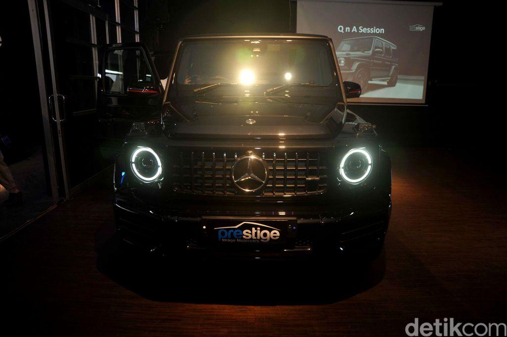 Mercedes-AMG G 63 Edition 1 didatangkan ke Indonesia langsung dari Inggris. Seperti apa penampakan mobil mewah ini?