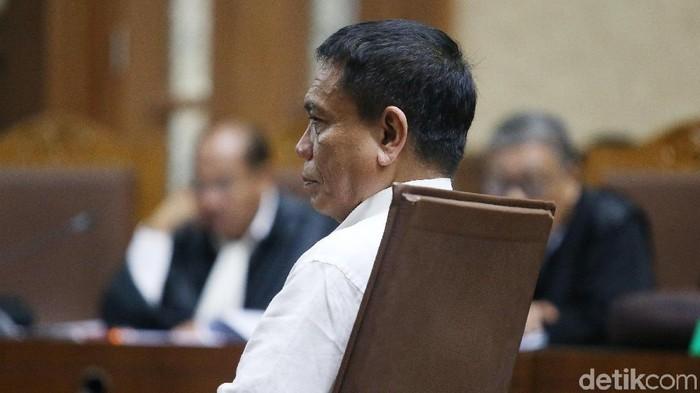 Gubernur Aceh nonaktif Irwandi Yusuf (Foto: Ari Saputra/detikcom)