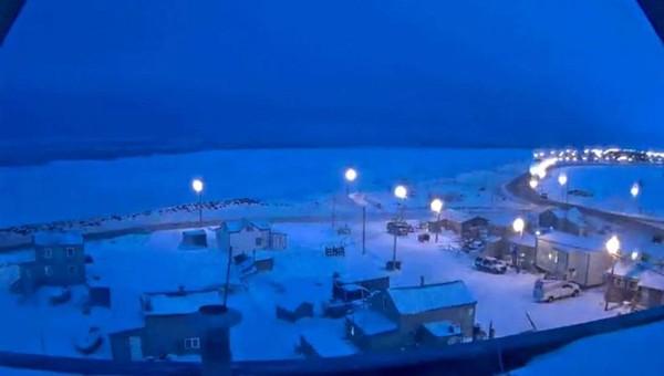 Kota Utqiagvik, Alaska, sebelumnya dikenal dengan nama Barrow. Tak ada lagi matahari terbit dan terbenam selama 65 hari alias sekitar dua bulan (Foto: CNN)
