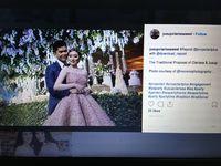 Pertunangan mewah Jusup dan Clarissa yang disebut sebagai 'crazy rich Surabayan'