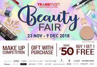 Ini Daftar Promo Beauty Fair dari Transmart Department Store